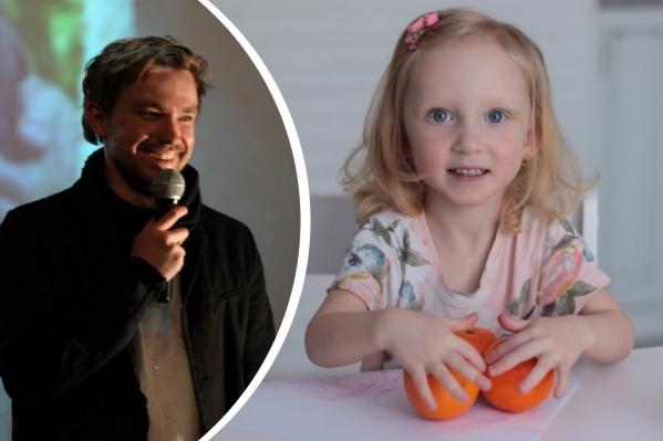 Российский актер просит помочь трехлетней девочке из Ярославля