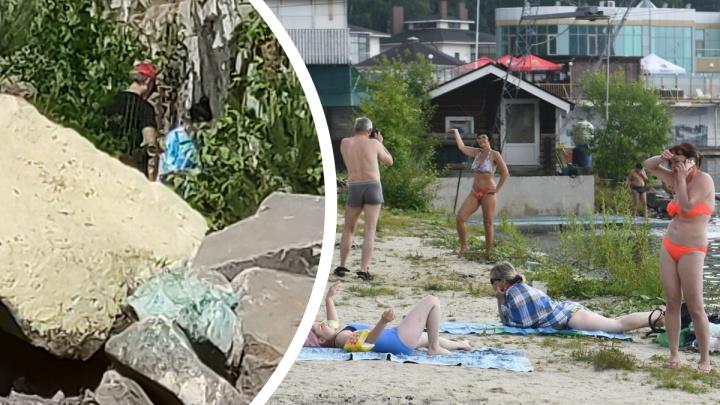 С екатеринбуржцев требуют деньги за проход к пляжу у «Рамады», несмотря на проверки полиции и прокуратуры