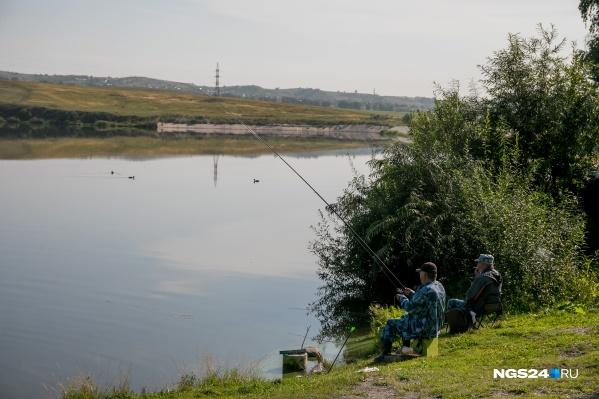 Озеро Мясокомбинат — одно из популярных мест для рыбалки в черте города