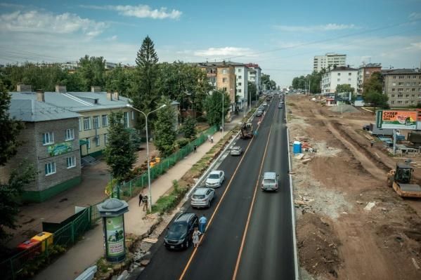 В будущем дорога соединит центр города с Восточным выездом
