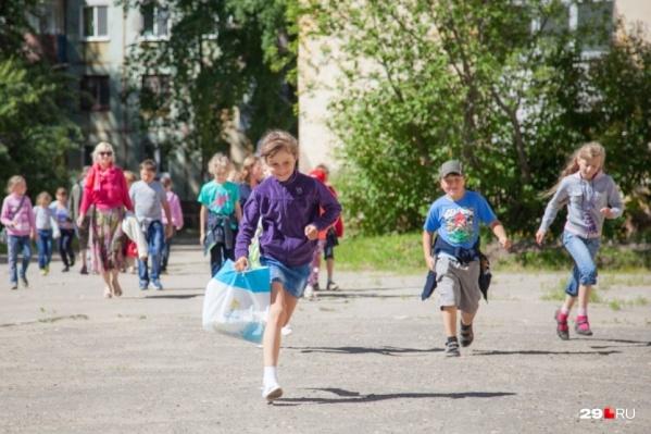 Детские лагеря в этом году разрешили заполнить на 75%