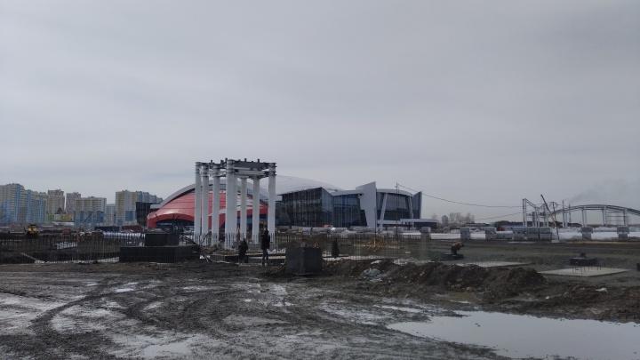 В Кемерово на Притомском проспекте начали строить дорогу-дублер. Рассказываем, что еще там появится