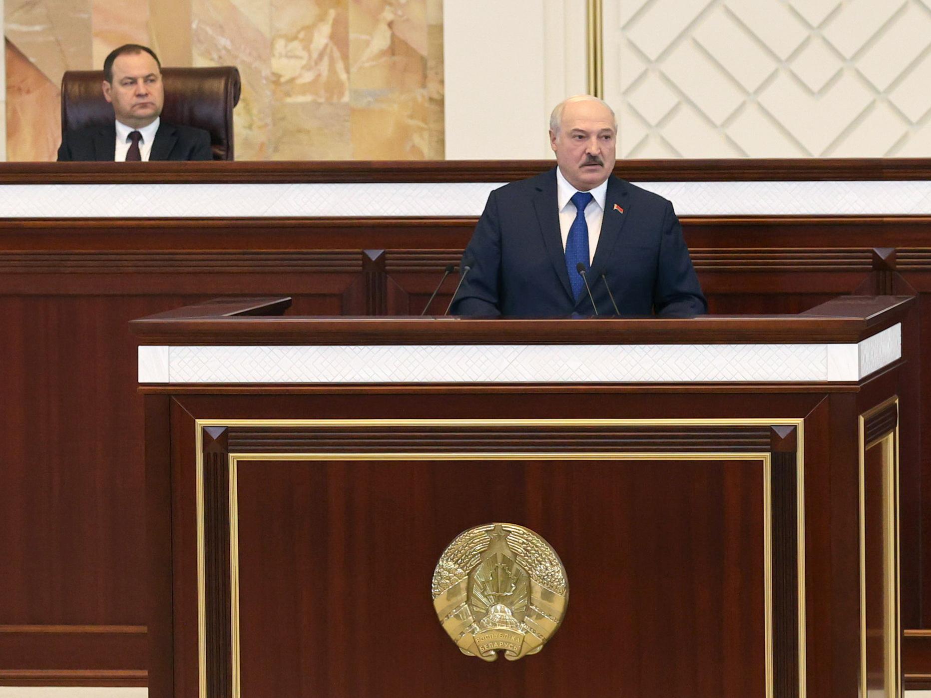 Нет смысла шатать Беларусь!. Что Лукашенко сказал в своей программной речи