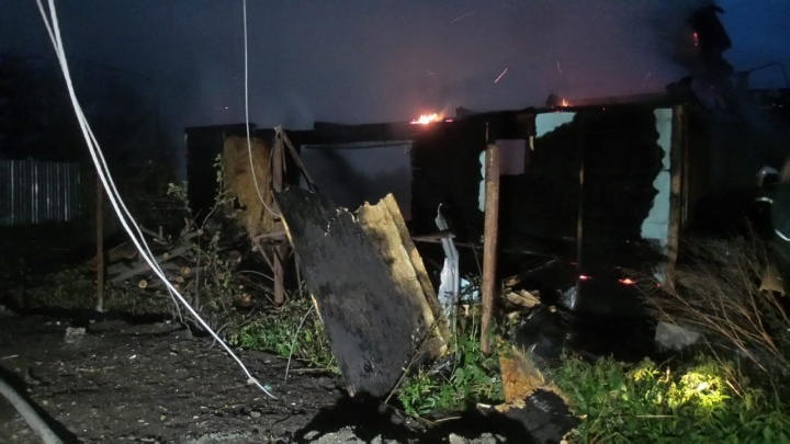 «Он подавал голос»: в садах на Чусовском тракте в пожаре погиб владелец частного дома