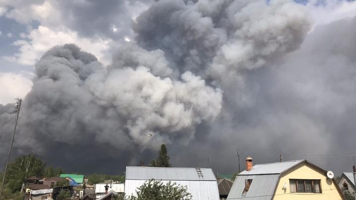 «Люди молились, чтобы для тушения прислали самолеты». Тюменка — о жизни в деревне, вокруг которой всё горит