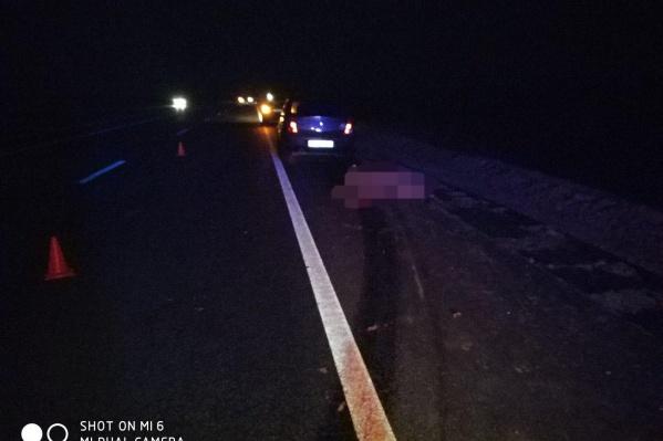 Авария произошла в 23:20