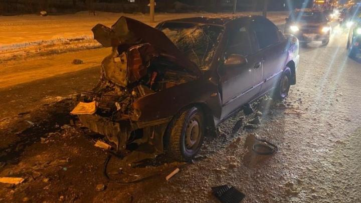 Водитель, протаранивший маршрутку с пассажирами, был пьян
