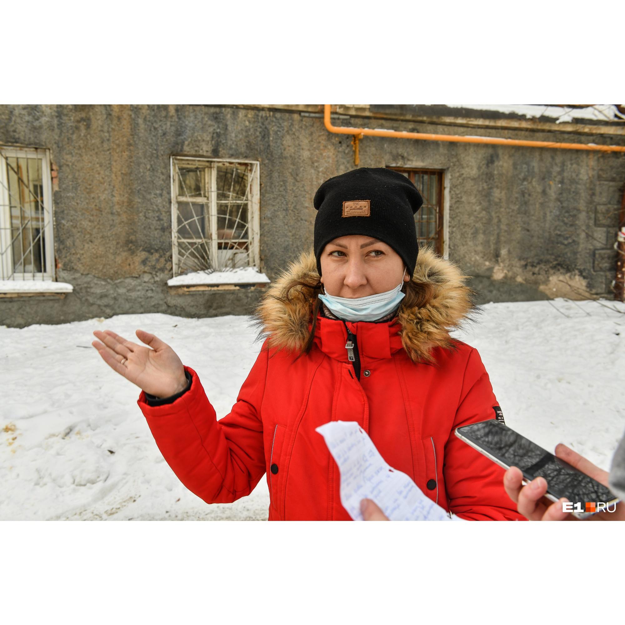 Ирина Сенцова живет в общежитии с 2014 года