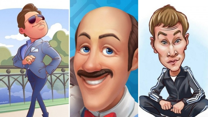 Вин Дизель, Понасенков и дворецкий Остин из Homescapes. Пермяк рисует карикатуры на звезд и персонажей популярных игр