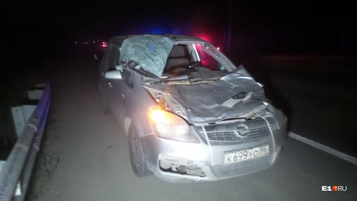 Водитель Opel отделался небольшими ссадинами и испугом