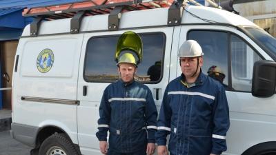 Электрики спасли женщину с четырьмя детьми на пожаре в Кузбассе