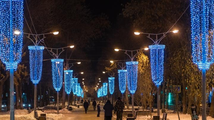 Новый год, прощай: в Минтрансе назвали сроки отключения праздничной иллюминации