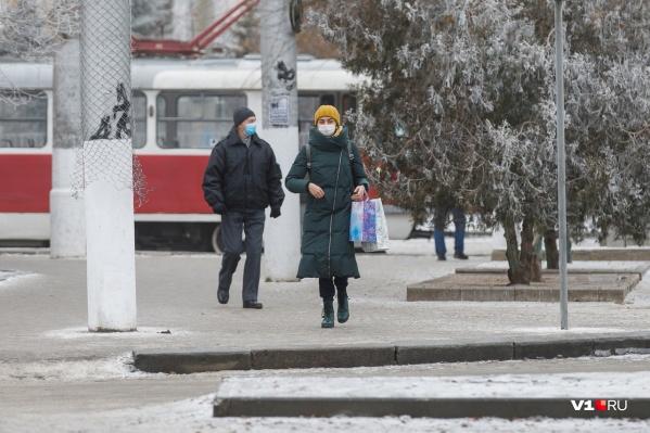 Погода еще устроит волгоградцам проверку на прочность