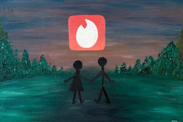 Эту иллюстрацию автор, герой нашего материала Слава Пацев, назвал «Счастливый конец»
