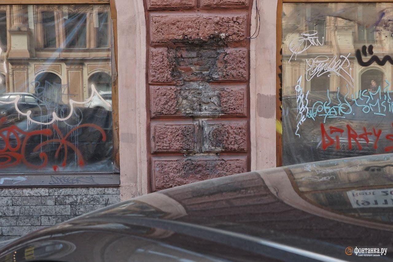 Владимирский проспект. Здесь некогда был таксофон.<br /><br />автор фото Михаил Огнев / «Фонтанка.ру»