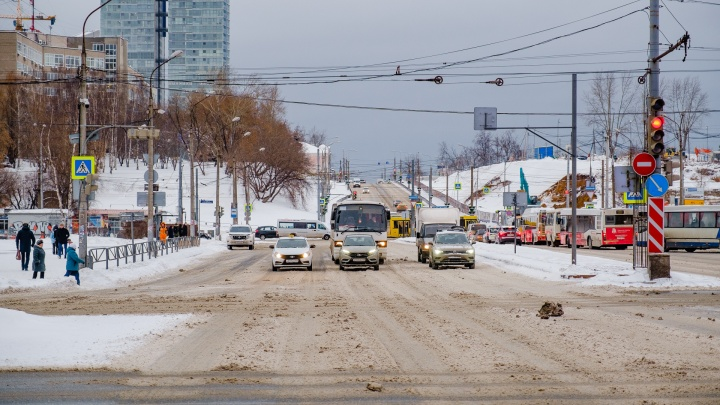 В центре Перми ограничат движение транспорта на нескольких улицах