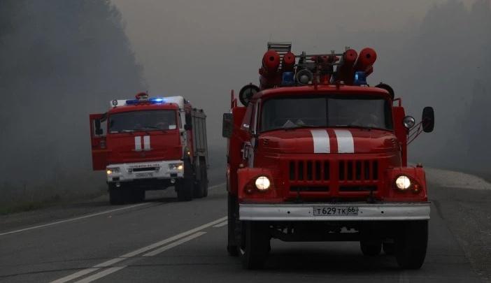 В двух свердловских городах ввели режим чрезвычайной ситуации из-за лесных пожаров