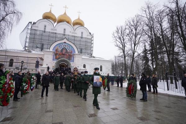 Прощание с Алексеем Константиновым прошло в Успенском соборе Ярославля