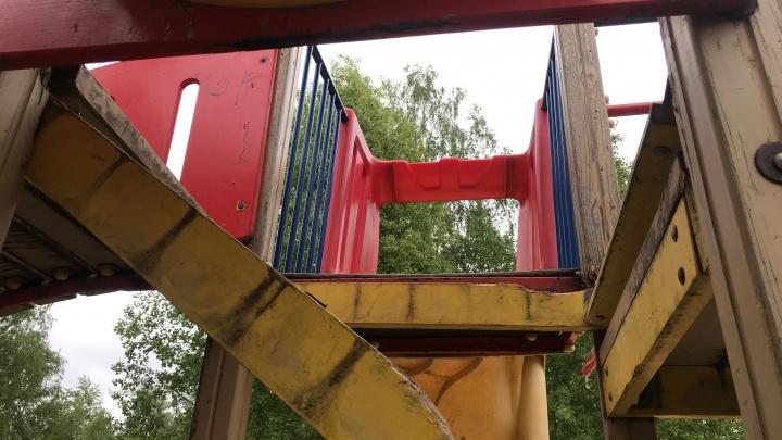 Следком возбудил уголовное дело из-за травмы, полученной на детской площадке Архангельска