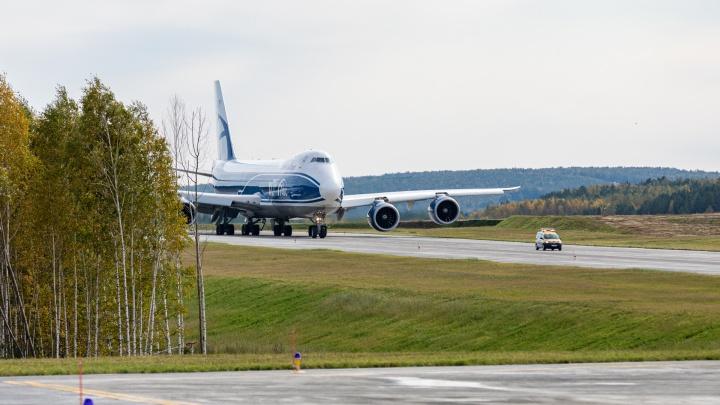 Взлет и посадка каждые три минуты: в красноярском аэропорту сдали рулежную дорожку за 1,9 млрд