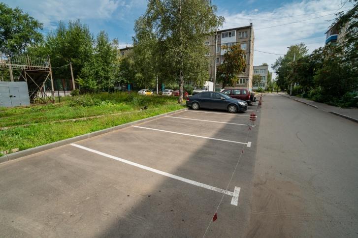 Двор по Гашкова, 29б