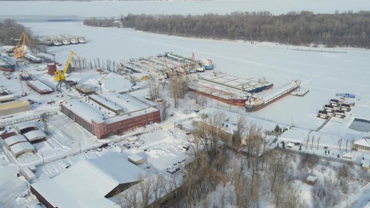 «Там строят корабли и высотки»: как выглядит Сухая Самарка с высоты