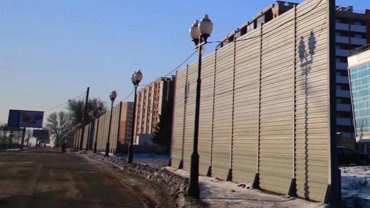 В Самаре на кольце Луначарского и Московского шоссе установят защитные экраны