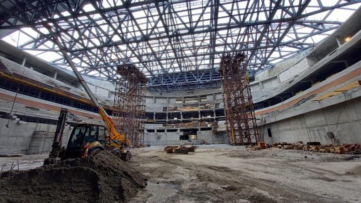 Минстрой региона отчитался о строительстве новой ледовой арены — что уже готово
