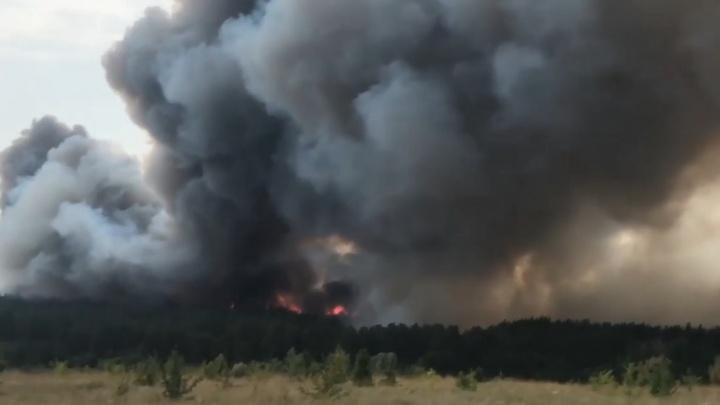 Три дня и две ночи: региональное управление МЧС озвучило причины страшного пожара в Волгоградской области