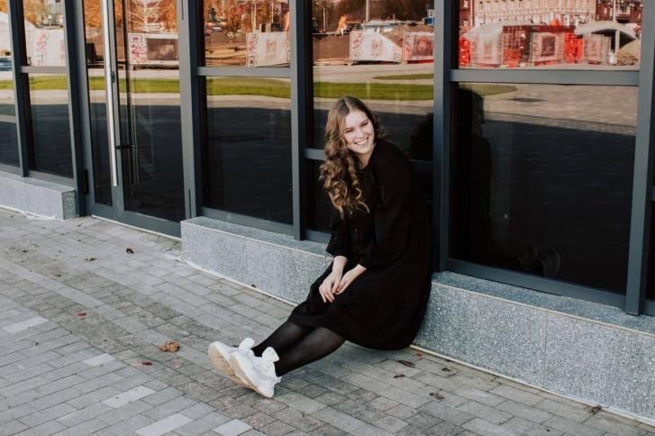 Александра Мохова окончила гимназию № 3