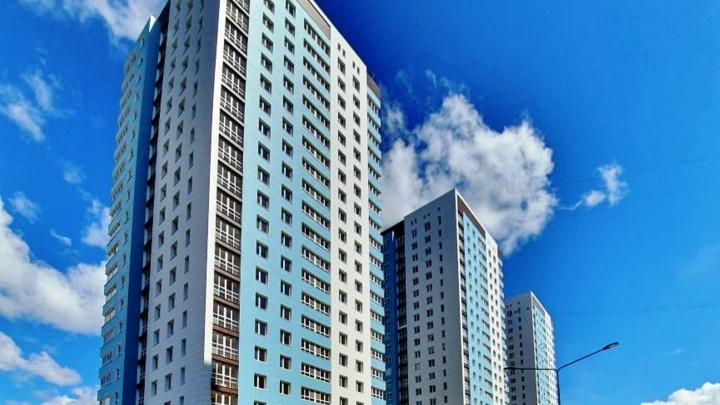 На Взлётной сдали последнюю многоэтажку из комплекса трех домов-близнецов