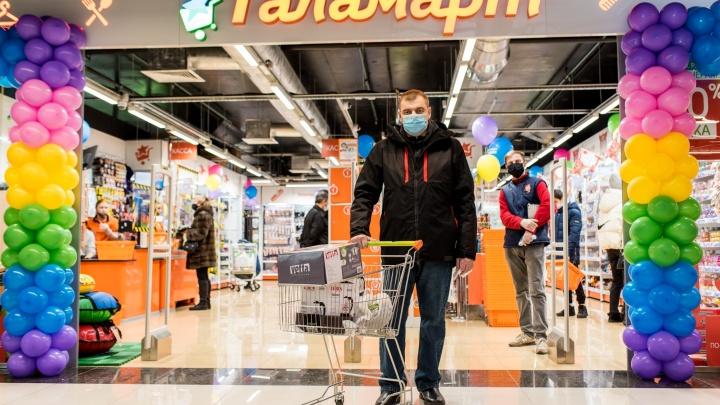 Второй товар за рубль: 23 февраля в Архангельске откроют новый «Галамарт»