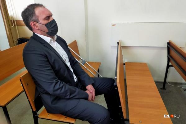 Александр Бачурин и его адвокат отказались общаться с журналистами