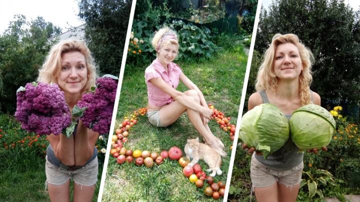 Сибирячка посвятила свой «ТикТок» огороду — ее советы и шутки собирают сотни тысяч просмотров