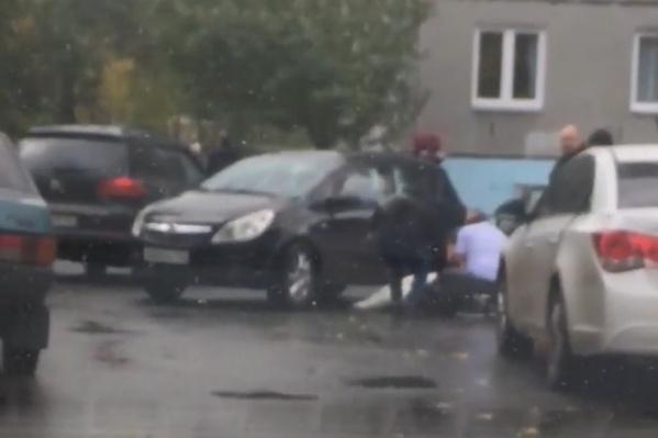 Мальчика сбили во дворе в пятницу, 1 октября