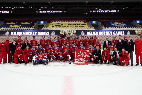 Сборная России досрочно стала победителем Шведских игр и всего Евротура<br>