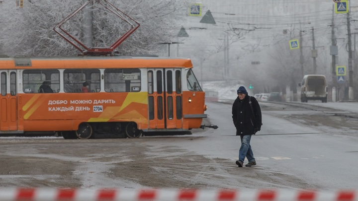«До конечной ничего не едет»: в Волгограде остановилось движение трамваев