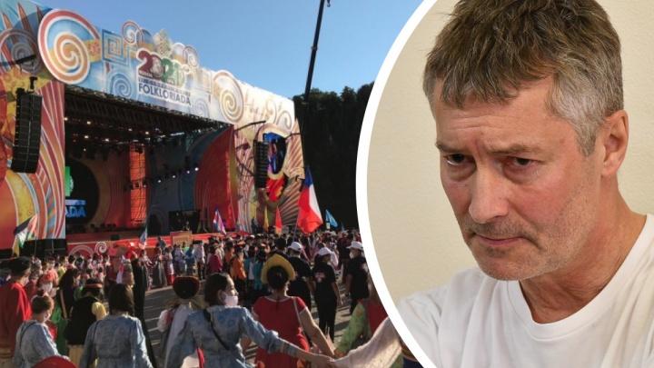 «Вы ***»: Евгений Ройзман матом раскритиковал организаторов крупного фестиваля в Уфе