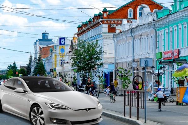 """В Троицке 300 дней в году <nobr class=""""_"""">солнечные —</nobr> идеально для производства Tesla, считает Дмитрий Закарлюкин"""