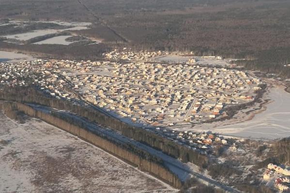 Коттеджный поселок «Алые паруса» насчитывает более 700 домов
