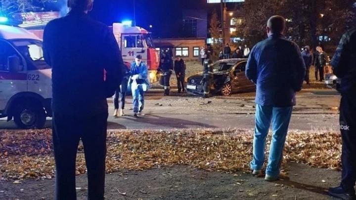 В ДТП, устроенном 20-летним автомобилистом на Северо-Западе Челябинска, пострадали четыре человека
