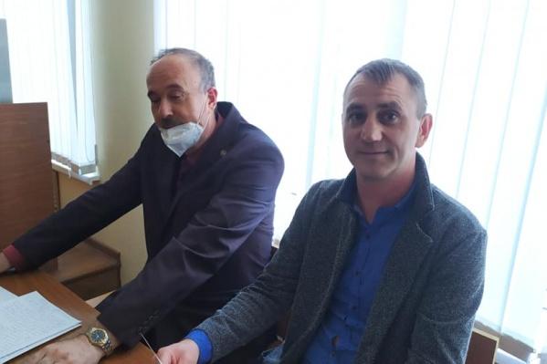 Адвокат Евгений Беркович вместе с Игорем Хорошиловым