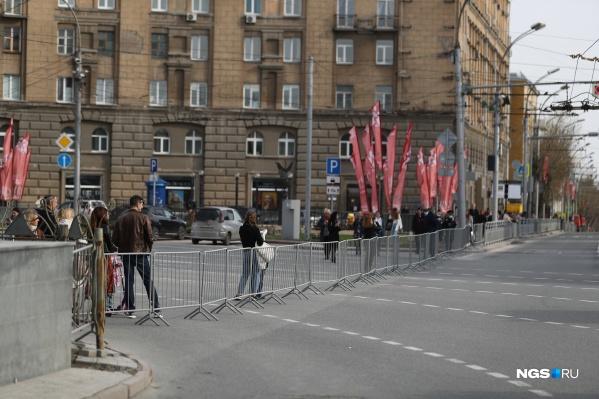 В городе проходит репетиция парада Победы