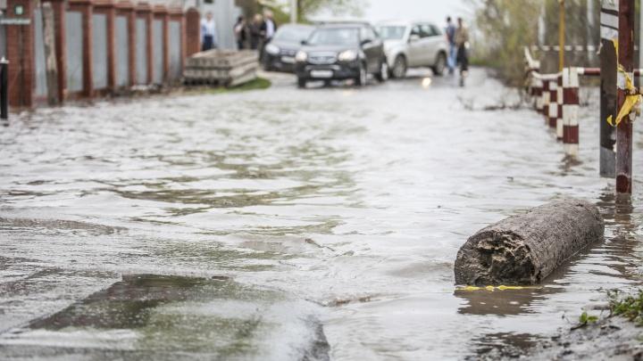 Паводок в этом году может добраться до Искитима и подтопить 3700 жилых домов