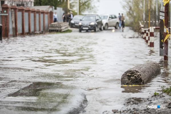 При наихудшем сценарии паводковые воды подтопят 15 населенных пунктов в регионе