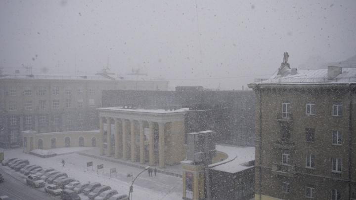 На Новосибирск идет ветер до 23м/с: МЧС рассылает оповещения