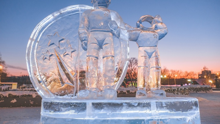 Из-за резкого потепления в Перми временно закроют ледовые городки