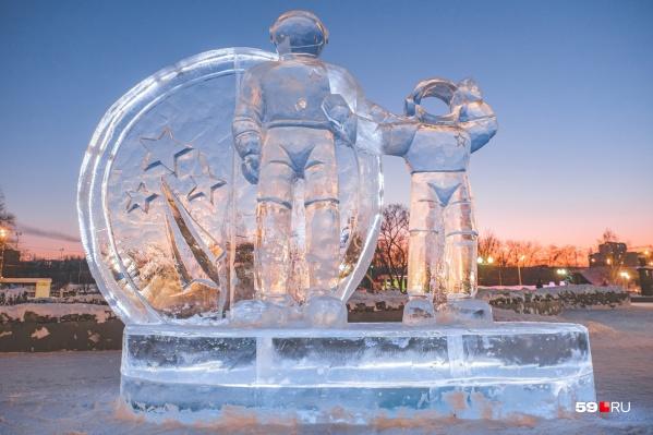 Резкое потепление грозит тем, что ледовые объекты могут подтаять. Городки закроют с целью безопасности