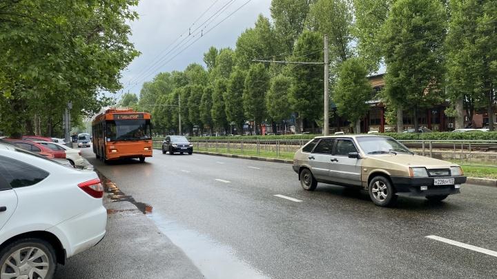 На Ставропольской в Краснодаре может появиться выделенная полоса. Это будет зависеть от мнения горожан