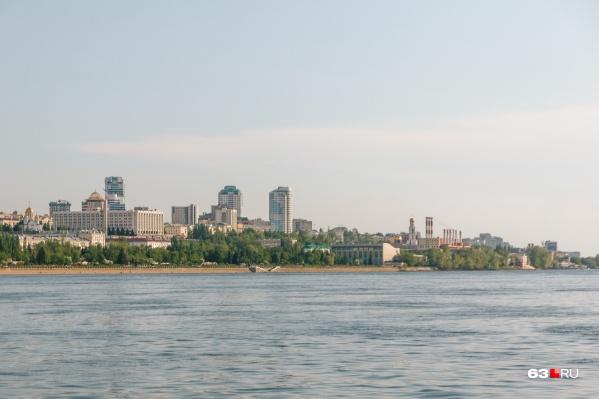Волга у Самары начала нагреваться еще в начале июля